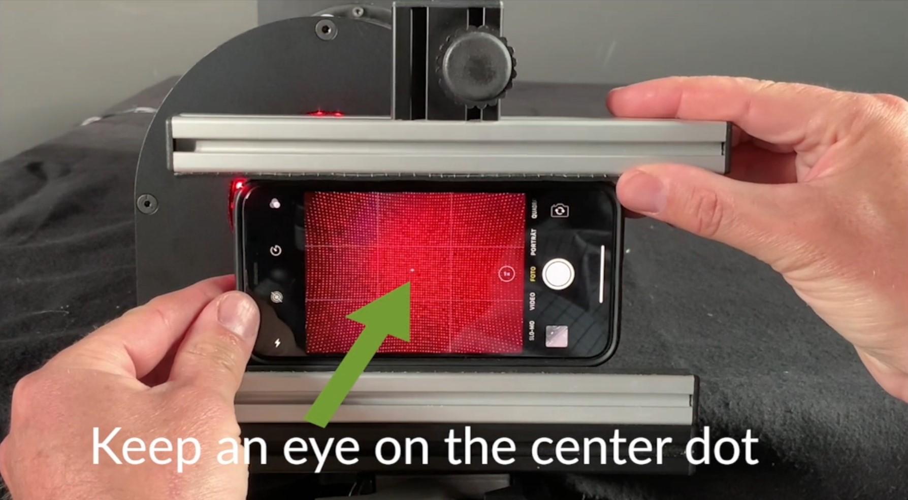 A new dimension in geometric camera calibration
