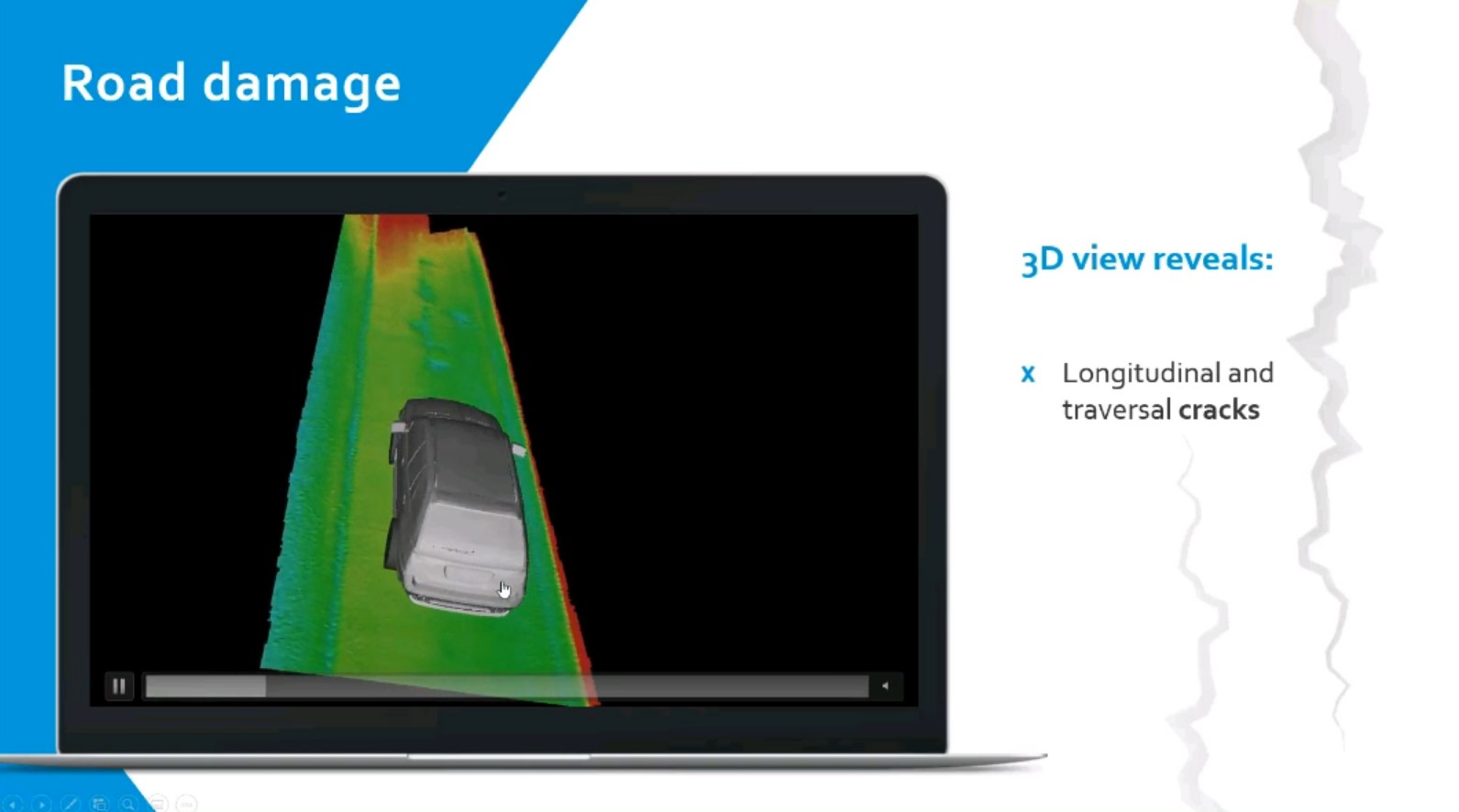 A Live Demo of highly accurate Road Digitization for Automotive Applications