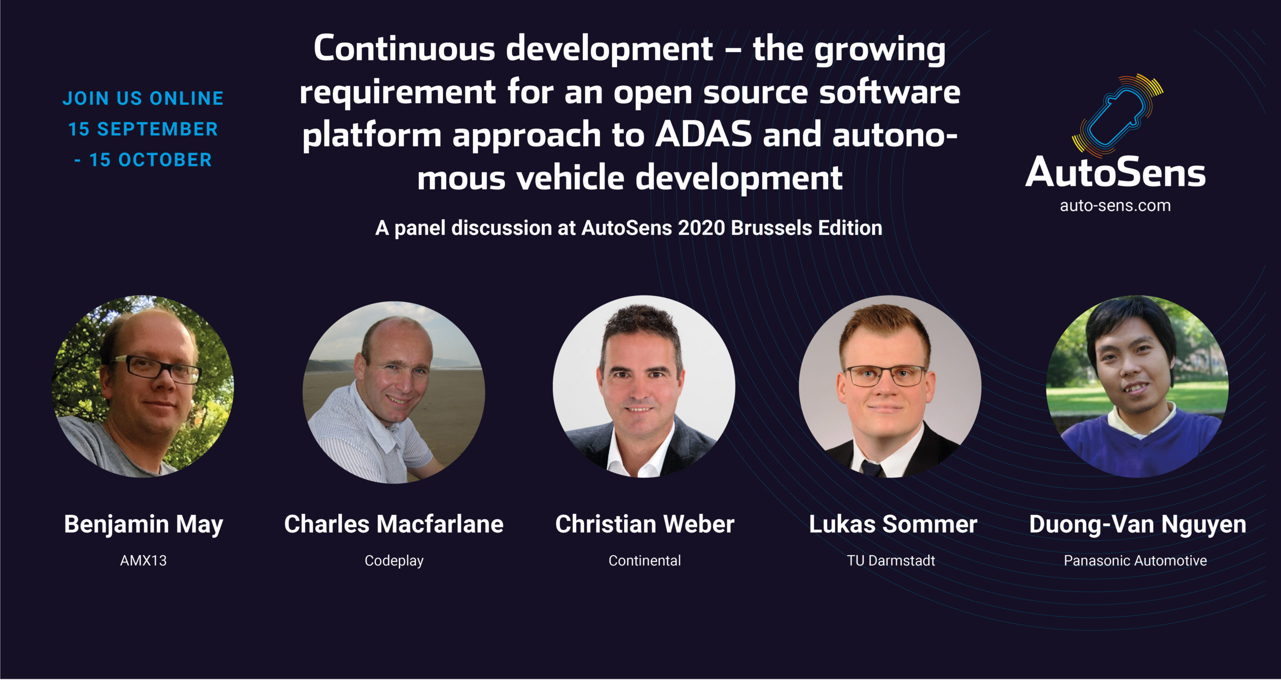 Continuous development – the growing requirement for an open standard software platform approach to ADAS and autonomous vehicle development