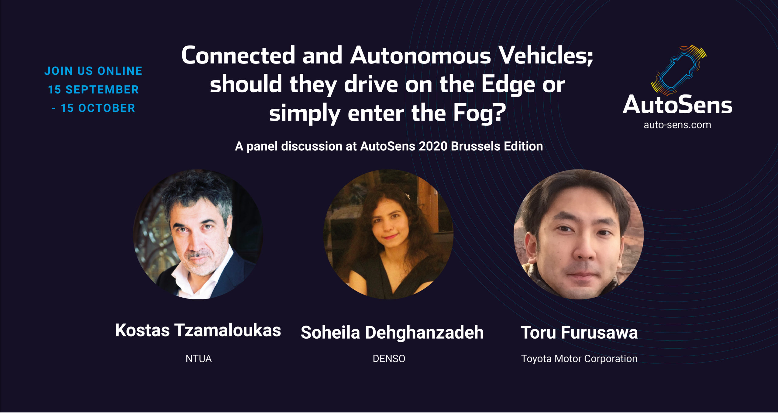 Connected and Autonomous Vehicles; should they drive on the Edge or simply enter the Fog?