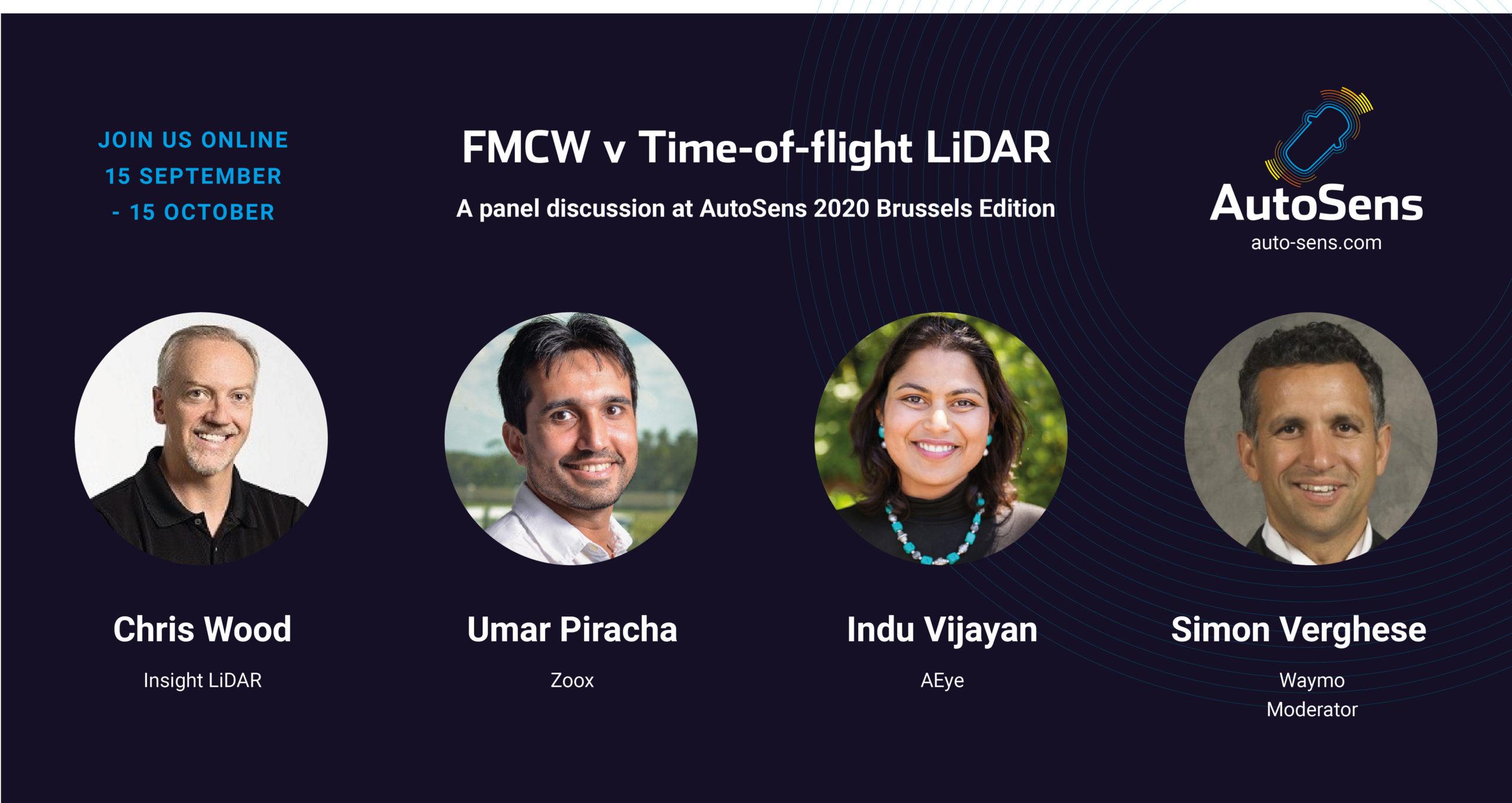 FMCW v Time-of-flight LiDAR